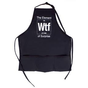 Element Of Surprise WTF Apron