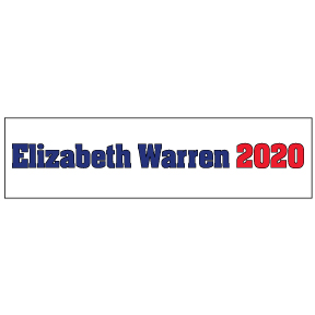 Elizabeth Warren 2020 Bumper Sticker