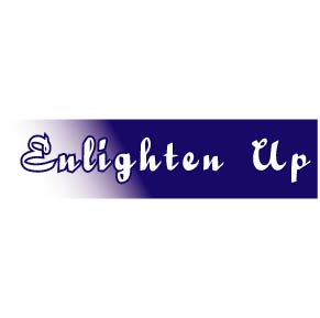 Enlighten Up Bumper Sticker