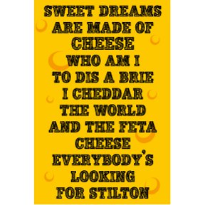 Eurythmics Cheese Magnet