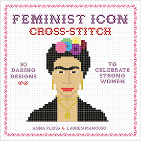 Feminist Icon Cross-Stitch Book