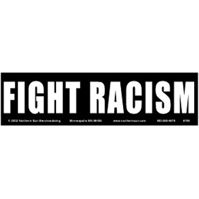 Fight-Racism-Bumper-Sticker