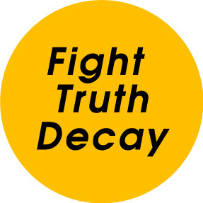 Fight Truth Decay Button