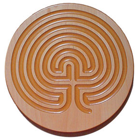 Finger-Labyrinth-Plaque