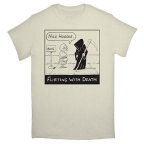 Flirt-With-Death-Organic-T-Shirt