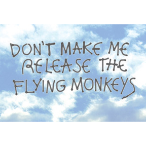 Flying Monkeys 2x3 Magnet