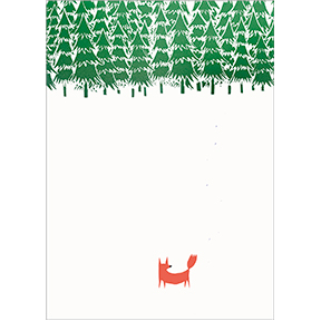 Fox In The Forest 12 Note Card Set