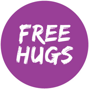 Free-Hugs-Button