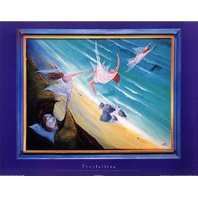 Freefalling Jane Evershed Poster