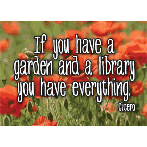 Garden And Library Cicero 2x3 Magnet