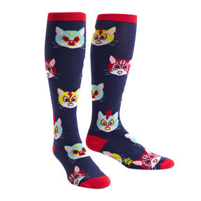 Gato Libre Cat Knee High Socks