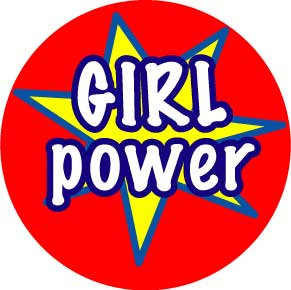 Girl-Power-Button