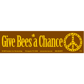 Give-Bees-A-Chance-Bumper-Sticker