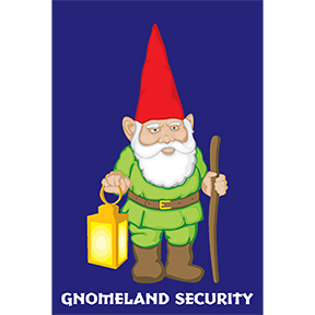 Gnomeland Security Magnet