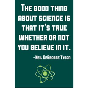 Good Thing Science Neil Tyson 2x3 Magnet