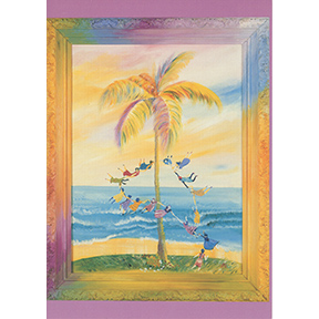 Great Leap Of Faith Jane Evershed 8 Note Card Set