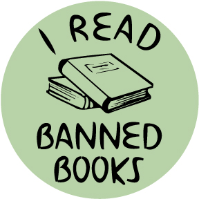 I Read Banned Books Button