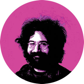 Jerry Garcia Button