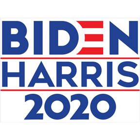 Joe Biden Kamala Harris Sign