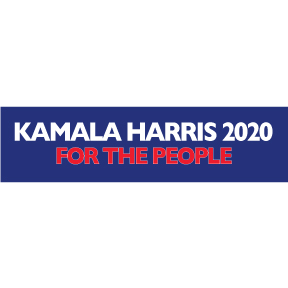 Kamala Harris 2020 Bumper Sticker