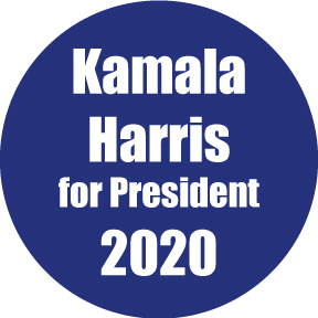 Kamala Harris For President Button
