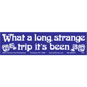 Long Strange Trip Bumper Sticker