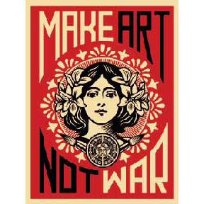 Make-Art-Not-War-Poster