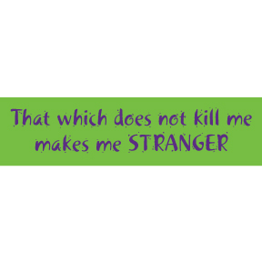 Makes-Me-Stranger-Bumper-Sticker