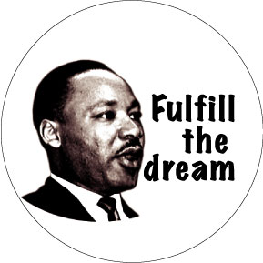 Martin Luther King Button