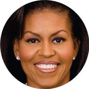 Michelle Obama Button