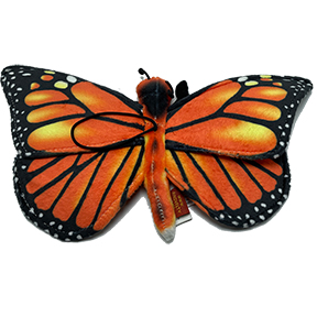 "Monarch Butterfly 13"" Plush Toy"