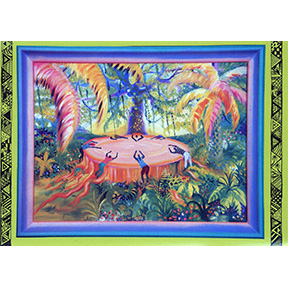 Mourning In The Rainforest Jane Evershed 4 Note Card Set