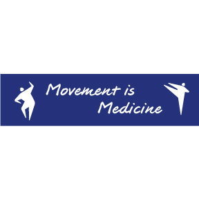 Movement Is Medicine Bumper Sticker