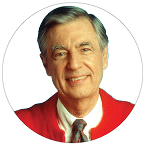 Mr Fred Rogers Button