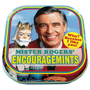 Mr Fred Rogers Encourage Mints