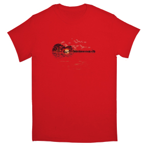 Musical-Sunset-T-Shirt