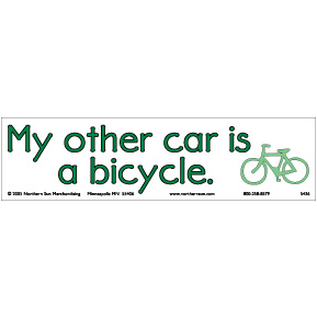 My-Other-Car-Is-A-Bicycle-Bumper-Sticker