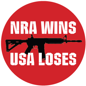 NRA Wins USA Loses Button