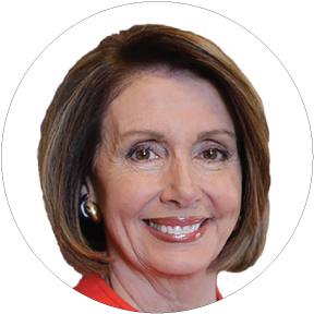 Nancy Pelosi Button