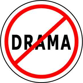 No Drama Button