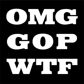 OMG GOP WTF Sticker