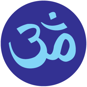 Om Symbol Small Button