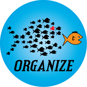 Organize-Button
