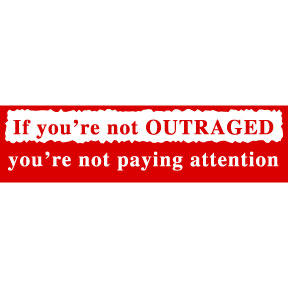 Outraged-Bumper-Sticker