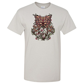 Owl Butterfly Illusion Women's TShirt