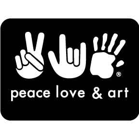 Peace-Love-Art-Sticker