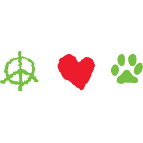 Peace-Love-Paws-Bumper-Sticker