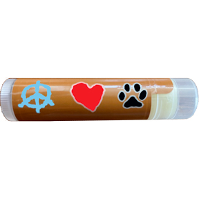 Peace Love Paws Cherry Lip Balm