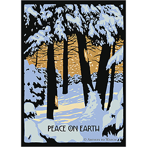 Peace On Earth 12 Note Card Set