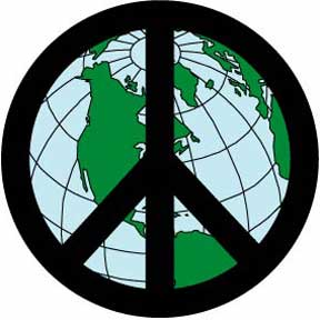 Peace-Sign-Earth-Button